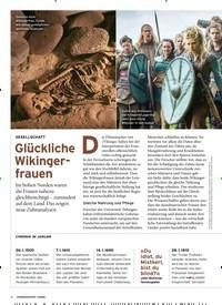 Titelbild der Ausgabe 1/2020 von GESELLSCHAFT: Glückliche Wikingerfrauen. Zeitschriften als Abo oder epaper bei United Kiosk online kaufen.