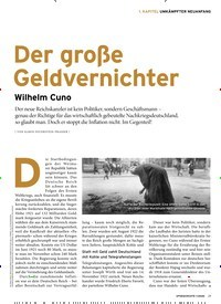 Titelbild der Ausgabe 1/2020 von 1. KAPITEL UMKÄMPFTER NEUANFANG: Der große Geldvernichter: Wilhelm Cuno. Zeitschriften als Abo oder epaper bei United Kiosk online kaufen.