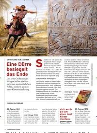Titelbild der Ausgabe 2/2020 von UNTERGANG DER ASSYRER: Eine Dürre besiegelt das Ende. Zeitschriften als Abo oder epaper bei United Kiosk online kaufen.