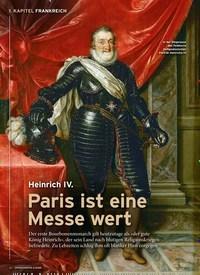 Titelbild der Ausgabe 2/2020 von 1. KAPITEL FRANKREICH: Heinrich IV.: Paris ist eine Messe wert. Zeitschriften als Abo oder epaper bei United Kiosk online kaufen.