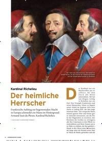 Titelbild der Ausgabe 2/2020 von Kardinal Richelieu: Der heimliche Herrscher. Zeitschriften als Abo oder epaper bei United Kiosk online kaufen.