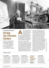 Titelbild der Ausgabe 4/2020 von ZEITZEICHEN: 29.04.1970: Krieg im Fernen Osten. Zeitschriften als Abo oder epaper bei United Kiosk online kaufen.
