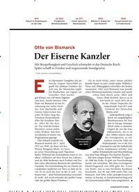 Titelbild der Ausgabe 6/2020 von Otto von Bismarck: Der Eiserne Kanzler. Zeitschriften als Abo oder epaper bei United Kiosk online kaufen.
