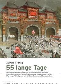 Titelbild der Ausgabe 7/2020 von 1. KAPITEL FORMATION: Aufstand in Peking: 55 lange Tage. Zeitschriften als Abo oder epaper bei United Kiosk online kaufen.