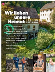 Titelbild der Ausgabe 10/2019 von Wir lieben unsere Heimat. Zeitschriften als Abo oder epaper bei United Kiosk online kaufen.