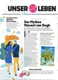 Titelbild der Ausgabe 11/2019 von UNSER LEBEN im november: AUSSTELLUNG: Der Mythos Vincent van Gogh. Zeitschriften als Abo oder epaper bei United Kiosk online kaufen.