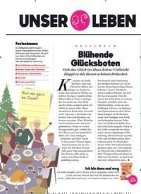 Titelbild der Ausgabe 12/2019 von BRAUCHTUM: Blühende Glücksboten. Zeitschriften als Abo oder epaper bei United Kiosk online kaufen.