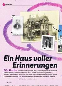 Titelbild der Ausgabe 1/2020 von Ein Haus voller Erinnerungen. Zeitschriften als Abo oder epaper bei United Kiosk online kaufen.
