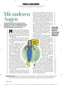 Titelbild der Ausgabe 3/2020 von MEIN LANDLEBEN: Mit anderen Augen. Zeitschriften als Abo oder epaper bei United Kiosk online kaufen.