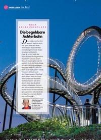 Titelbild der Ausgabe 5/2020 von MEIN LIEBLINGSPLATZ: Die begehbare Achterbahn. Zeitschriften als Abo oder epaper bei United Kiosk online kaufen.