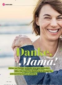 Titelbild der Ausgabe 5/2020 von Danke, Mama!. Zeitschriften als Abo oder epaper bei United Kiosk online kaufen.