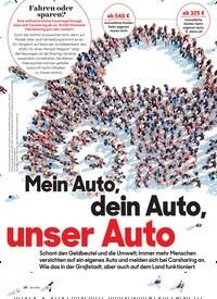 Titelbild der Ausgabe 5/2020 von Mein Auto, dein Auto, unser Auto. Zeitschriften als Abo oder epaper bei United Kiosk online kaufen.