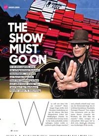 Titelbild der Ausgabe 6/2021 von THE SHOW MUST GO ON. Zeitschriften als Abo oder epaper bei United Kiosk online kaufen.