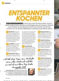 Titelbild der Ausgabe 3/2019 von ENTSPANNTER KOCHEN. Zeitschriften als Abo oder epaper bei United Kiosk online kaufen.