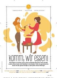 Titelbild der Ausgabe 5/2020 von ABNEHMEN KOCHEN GENIESSEN: Komm, wir essen!. Zeitschriften als Abo oder epaper bei United Kiosk online kaufen.