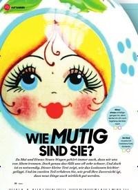 Titelbild der Ausgabe 1/2021 von WIE MUTIG SIND SIE?. Zeitschriften als Abo oder epaper bei United Kiosk online kaufen.