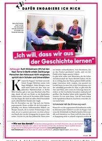 """Titelbild der Ausgabe 8/2020 von DAFÜR ENGAGIERE ICH MICH: """"Ich will, dass wir aus der Geschichte lernen"""". Zeitschriften als Abo oder epaper bei United Kiosk online kaufen."""
