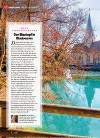 Titelbild der Ausgabe 11/2020 von MEIN LIEBLINGSPLATZ: Der Blautopf in Blaubeuren. Zeitschriften als Abo oder epaper bei United Kiosk online kaufen.