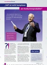 """Titelbild der Ausgabe 8/2019 von """"SAP ist nicht komplexer als Konkurrenzprodukte!"""". Zeitschriften als Abo oder epaper bei United Kiosk online kaufen."""