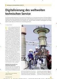 Titelbild der Ausgabe 8/2019 von Digitalisierung des weltweiten technischen Service. Zeitschriften als Abo oder epaper bei United Kiosk online kaufen.