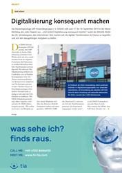 Titelbild der Ausgabe 9/2019 von Und Action!: Digitalisierung konsequent machen. Zeitschriften als Abo oder epaper bei United Kiosk online kaufen.