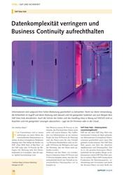 Titelbild der Ausgabe 9/2019 von SAP Data Hub: Datenkomplexität verringern und Business Continuity aufrechthalten. Zeitschriften als Abo oder epaper bei United Kiosk online kaufen.