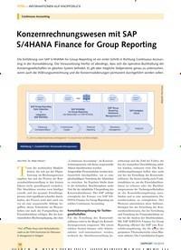 Titelbild der Ausgabe 10/2019 von Continuous Accounting: Konzernrechnungswesen mit SAP S/4HANA Finance for Group Reporting. Zeitschriften als Abo oder epaper bei United Kiosk online kaufen.