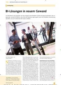 Titelbild der Ausgabe 10/2019 von SAP-Reporting: BI-Lösungen in neuem Gewand. Zeitschriften als Abo oder epaper bei United Kiosk online kaufen.