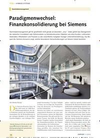 Titelbild der Ausgabe 11/2019 von Stammdatenmanagement: Paradigmenwechsel: Finanzkonsolidierung bei Siemens. Zeitschriften als Abo oder epaper bei United Kiosk online kaufen.