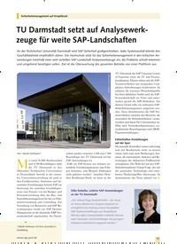 Titelbild der Ausgabe 11/2019 von Sicherheitsmanagement auf Knopfdruck: TU Darmstadt setzt auf Analysewerkzeuge für weite SAP-Landschaften. Zeitschriften als Abo oder epaper bei United Kiosk online kaufen.