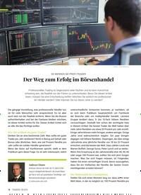 Titelbild der Ausgabe 9/2019 von SO WERDEN SIE PROFI-TRADER:-Der Weg zum Erfolg im Börsenhandel. Zeitschriften als Abo oder epaper bei United Kiosk online kaufen.