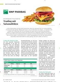 Titelbild der Ausgabe 9/2019 von INSIGHTS IN KOOPERATION MIT BNP PARIBAS*:-MIT DEFENSIVEN TITELN PUNKTEN:-Trading mit Saisonalitäten. Zeitschriften als Abo oder epaper bei United Kiosk online kaufen.