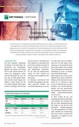 Titelbild der Ausgabe 10/2019 von Trading mit Saisonalitäten. Zeitschriften als Abo oder epaper bei United Kiosk online kaufen.