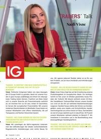 Titelbild der Ausgabe 11/2019 von TRADERS´ Talk: Nazli Visne. Zeitschriften als Abo oder epaper bei United Kiosk online kaufen.
