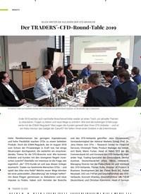 Titelbild der Ausgabe 2/2020 von BLICK HINTER DIE KULISSEN DER CFD-BRANCHE: Der TRADERS´-CFD-Round-Table 2019. Zeitschriften als Abo oder epaper bei United Kiosk online kaufen.