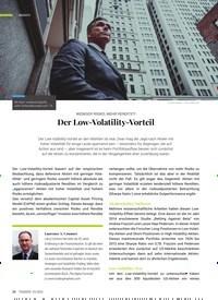 Titelbild der Ausgabe 3/2020 von WENIGER RISIKO, MEHR RENDITE?! Der Low-Volatility-Vorteil. Zeitschriften als Abo oder epaper bei United Kiosk online kaufen.