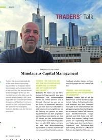 Titelbild der Ausgabe 4/2020 von EVANGELOS GIALOURIS: Minotaurus Capital Management. Zeitschriften als Abo oder epaper bei United Kiosk online kaufen.