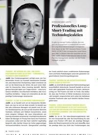 Titelbild der Ausgabe 4/2020 von INTERVIEW MIKE JUDITH: Professionelles Long-Short-Trading mit Technologieaktien. Zeitschriften als Abo oder epaper bei United Kiosk online kaufen.