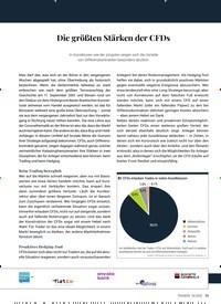 Titelbild der Ausgabe 4/2020 von Die größten Stärken der CFDs. Zeitschriften als Abo oder epaper bei United Kiosk online kaufen.