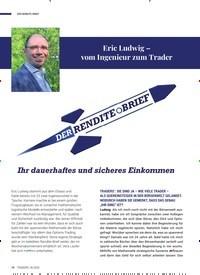 Titelbild der Ausgabe 6/2020 von Eric Ludwig – vom Ingenieur zum Trader: DER RENDITE-BRIEF. Zeitschriften als Abo oder epaper bei United Kiosk online kaufen.
