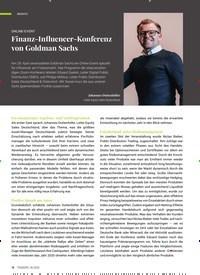 Titelbild der Ausgabe 6/2020 von ONLINE-EVENT: Finanz-Influencer-Konferenz von Goldman Sachs. Zeitschriften als Abo oder epaper bei United Kiosk online kaufen.
