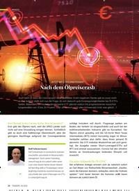 Titelbild der Ausgabe 6/2020 von JETZT MIT ETFS EINSTEIGEN? Nach dem Ölpreiscrash. Zeitschriften als Abo oder epaper bei United Kiosk online kaufen.