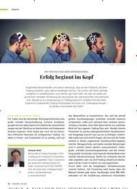 Titelbild der Ausgabe 6/2020 von DIE PSYCHOLOGIE BEIM BÖRSENHANDEL: Erfolg beginnt im Kopf. Zeitschriften als Abo oder epaper bei United Kiosk online kaufen.