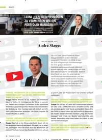 Titelbild der Ausgabe 7/2020 von SOCIAL MEDIA TALK: André Stagge. Zeitschriften als Abo oder epaper bei United Kiosk online kaufen.