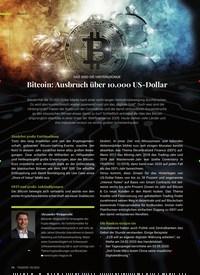 Titelbild der Ausgabe 9/2020 von DAS SIND DIE HINTERGRÜNDE: Bitcoin: Ausbruch über 10.000 US-Dollar. Zeitschriften als Abo oder epaper bei United Kiosk online kaufen.