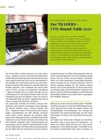 Titelbild der Ausgabe 9/2020 von ALLES WIE IMMER - UND DOCH GANZ ANDERS: Der TRADERS - CFD-Round-Table 2020. Zeitschriften als Abo oder epaper bei United Kiosk online kaufen.