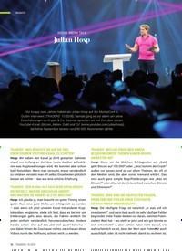 Titelbild der Ausgabe 10/2020 von SOCIAL MEDIA TALK: Julian Hosp. Zeitschriften als Abo oder epaper bei United Kiosk online kaufen.