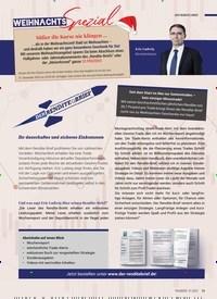 Titelbild der Ausgabe 1/2021 von DER RENDITE-BRIEF: WEIHNACHTS Spezial. Zeitschriften als Abo oder epaper bei United Kiosk online kaufen.