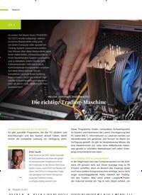 Titelbild der Ausgabe 3/2021 von TEIL 2: Die richtige Trading-Maschine. Zeitschriften als Abo oder epaper bei United Kiosk online kaufen.