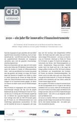 Titelbild der Ausgabe 4/2021 von 2020 – ein Jahr für innovative Finanzinstrumente. Zeitschriften als Abo oder epaper bei United Kiosk online kaufen.
